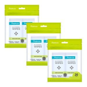 Freshca Hand Sanitizing Wet Wipes