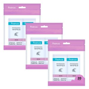Orchid Refreshing Wipes
